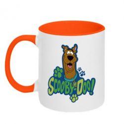 Кружка двухцветная Scooby Doo! - FatLine