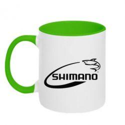 Кружка двухцветная Shimano - FatLine