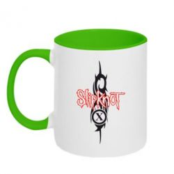 Кружка двухцветная Slipknot Music - FatLine