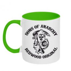 Кружка двухцветная Sons of Anarchy - FatLine