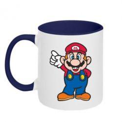 Кружка двухцветная Супер Марио - FatLine