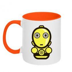 Кружка двухцветная Sweet C-3PO - FatLine