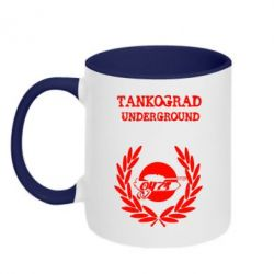Кружка двухцветная Tankograd Underground - FatLine