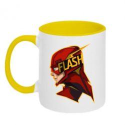 Кружка двухцветная The Flash - FatLine