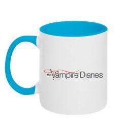 Кружка двухцветная The Vampire Diaries Small - FatLine