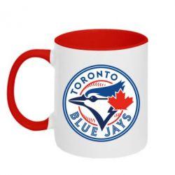 Кружка двухцветная Toronto Blue Jays - FatLine