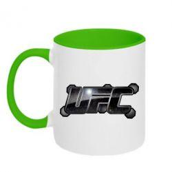 Кружка двухцветная UFC Art - FatLine