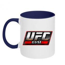 Кружка двухцветная UFC GyM - FatLine