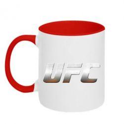 Кружка двухцветная UFC Metal - FatLine