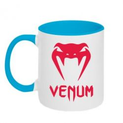 Кружка двухцветная Venum2 - FatLine