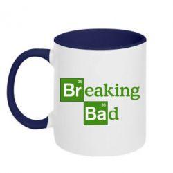 Кружка двухцветная Во все тяжкие (Breaking Bad) - FatLine