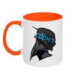 Кружка двухцветная Zoom - FatLine
