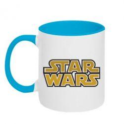 Кружка двухцветная Звездные войны - FatLine