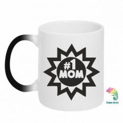 Кружка-хамелеон # 1 MOM - FatLine