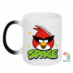 Кружка-хамелеон Angry Birds Space - FatLine