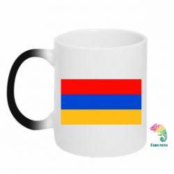 Кружка-хамелеон Армения - FatLine