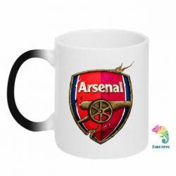 Кружка-хамелеон Arsenal Art Logo - FatLine