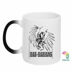 Кружка-хамелеон Bar Barians
