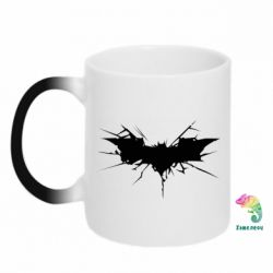 Кружка-хамелеон Batman cracks - FatLine