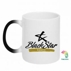 Кружка-хамелеон Black Star Ranch
