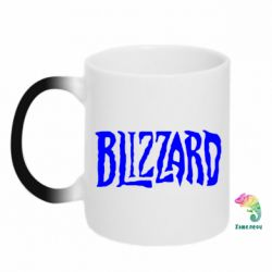 Кружка-хамелеон Blizzard Logo - FatLine
