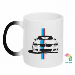 Кружка-хамелеон BMW F30 - FatLine