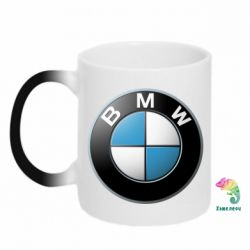 Кружка-хамелеон BMW Logo 3D - FatLine