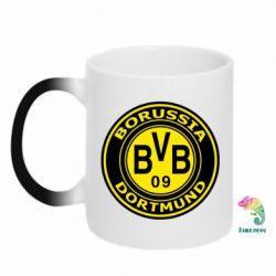Кружка-хамелеон Borussia Dortmund - FatLine