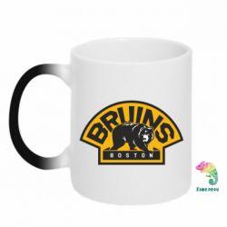 Кружка-хамелеон Boston Bruins - FatLine