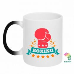 Кружка-хамелеон Boxing Logo - FatLine