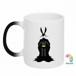 Кружка-хамелеон Bucks Bunny Batman - FatLine