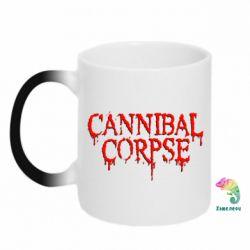 Кружка-хамелеон Cannibal Corpse - FatLine