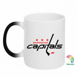 Кружка-хамелеон Capitals - FatLine