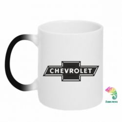 Кружка-хамелеон Chevrolet Logo Small