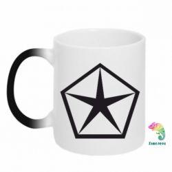 Кружка-хамелеон Chrysler Star - FatLine