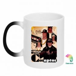Кружка-хамелеон Compton's NWA - FatLine