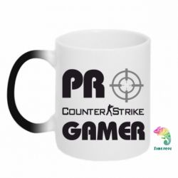 Кружка-хамелеон Counter Strike Pro Gamer - FatLine