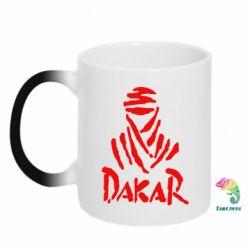 Кружка-хамелеон Dakar - FatLine