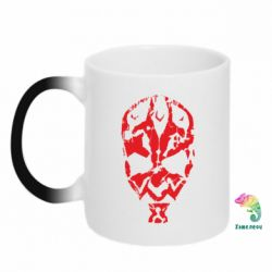 Кружка-хамелеон Darth Maul Logo