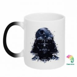 Кружка-хамелеон Darth Vader Space - FatLine
