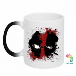 Кружка-хамелеон Deadpool Spray - FatLine