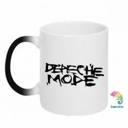 Кружка-хамелеон Depeche mode - FatLine