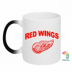 Кружка-хамелеон Detroit Red Wings - FatLine