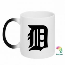 Кружка-хамелеон Detroit Tigers - FatLine