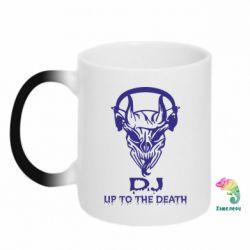 Кружка-хамелеон Dj Up to the Dead - FatLine