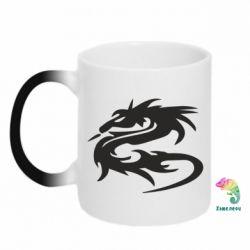 Кружка-хамелеон Дракон - FatLine