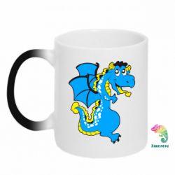 Кружка-хамелеон Дракоша - FatLine