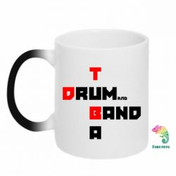 Кружка-хамелеон Drum&Tuba Band - FatLine