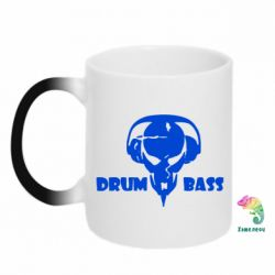 Кружка-хамелеон Drumm Bass - FatLine