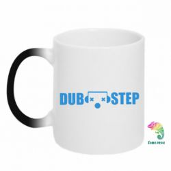 Кружка-хамелеон Dub Step eyes - FatLine